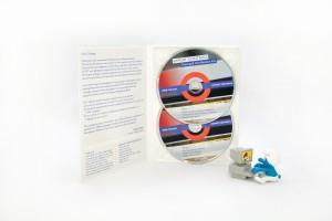 4p DVD digipak 1 tray met 2 discs