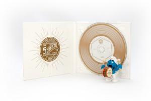 CD Digipak gold PMS