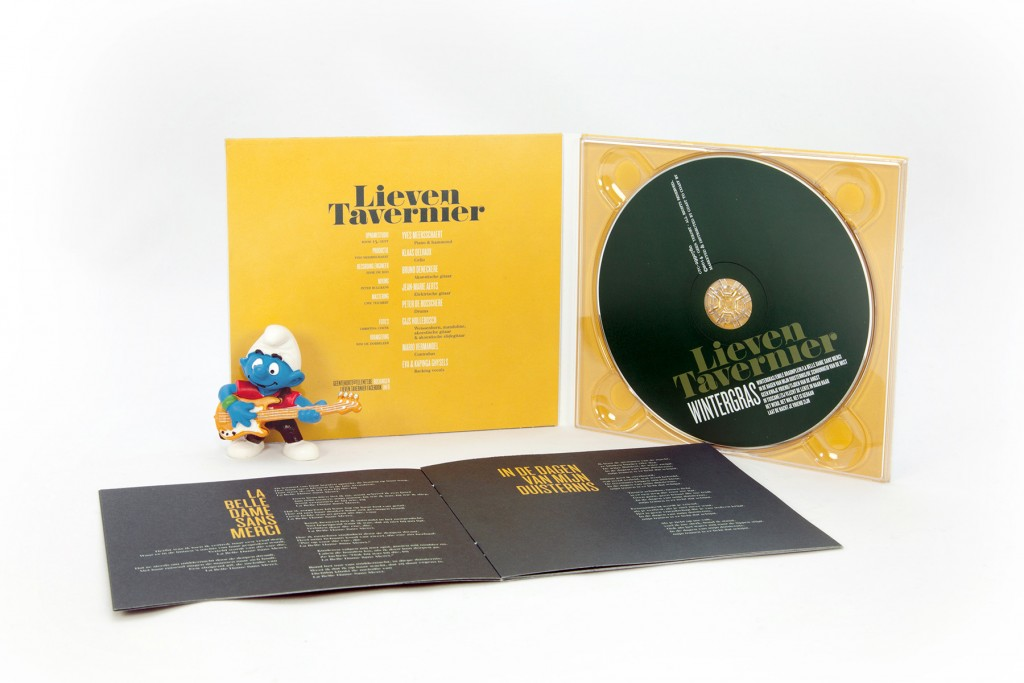 4p CD Digipack met booksleeve