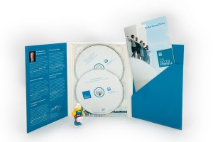 6p DVD Digipak met 1 tray voor 2 discs en bookpocket